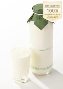中洞牧場牛乳〔720ml〕 × 2本