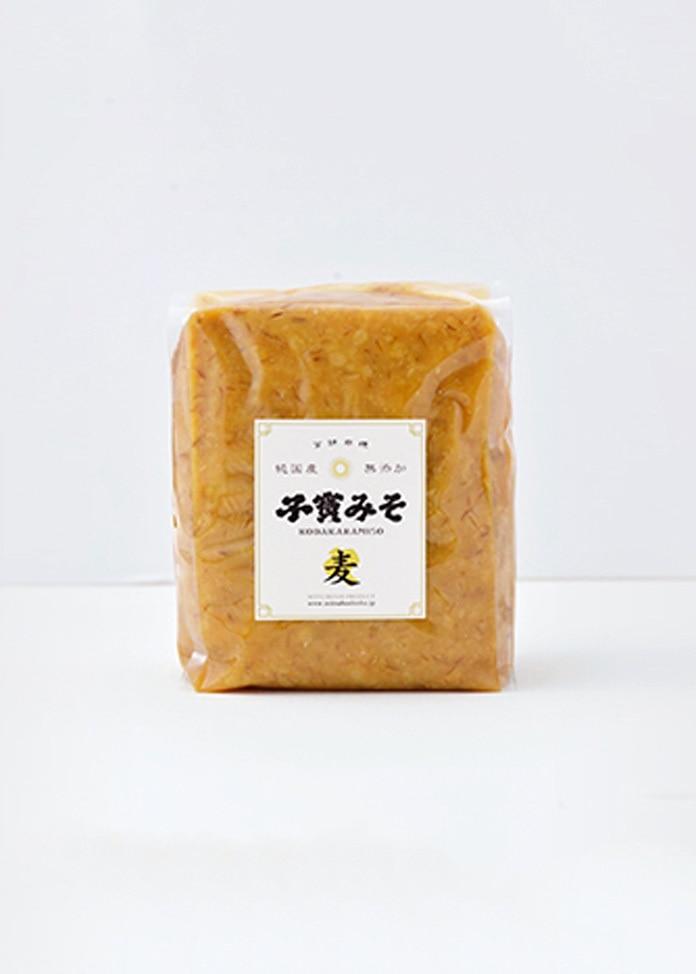 MITSUBOSHI PRODUCT 子寶みそ 麦 1kgx2ヶ