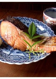 鮭の味噌漬 5切樽入