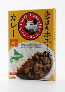 北海道産ホエー豚カレー 180g×4個