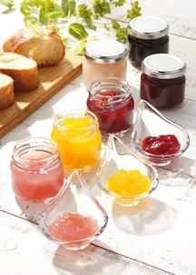 季節の果実のジュレ デ セール
