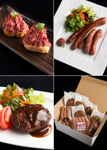 【マルシェ限定品】加藤牛肉店 肉の宝石箱(山形牛100%幻のコンビーフ入り)