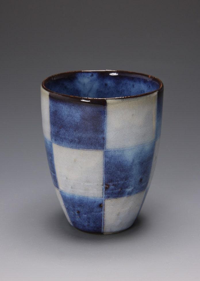 萩焼 松光山窯 青萩釉 ビールカップ