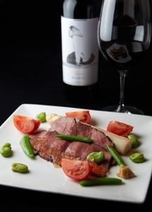 【GINZA Kansei】国産厳選和牛ローストビーフと赤ワインセット