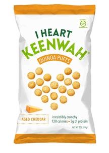 【I HEART KEENWAH】キヌアパフス エイジドチェダー