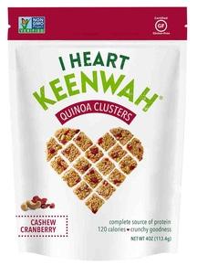 【I HEART KEENWAH】オールナチュラル キヌアクラスター クランベリー&カシューナッツ