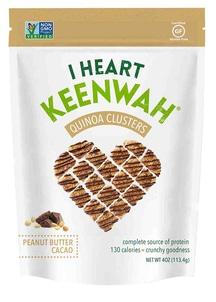 【I HEART KEENWAH】オールナチュラル キヌアクラスター ピーナッツバター&カカオ