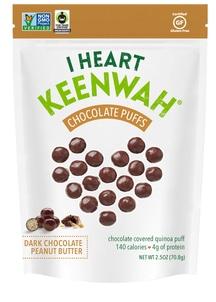 【I HEART KEENWAH】キヌアパフス ダークチョコ&ピーナッツバター
