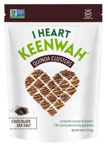【I HEART KEENWAH】オールナチュラル キヌアクラスター チョコレート&シーソルト