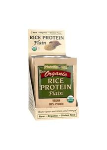 【NutriBiotic】USDAオーガニック ライスプロテイン プレーン