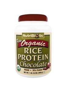 【NutriBiotic】USDAオーガニック ライスプロテイン チョコレート