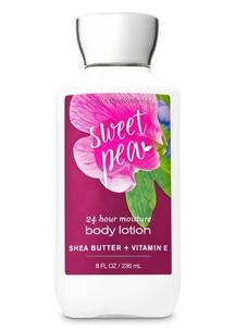 【Bath & Body Works】 スイートピーの香り ボディローション