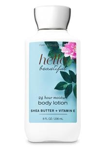 【Bath & Body Works】 ハロー ビューティフルの香り ボディローション