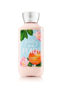 【Bath & Body Works】 プリティー アズ ア ピーチの香り_ボディローション