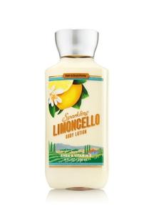 【Bath & Body Works】 スパークリング リモンチェッロの香り_ボディローション