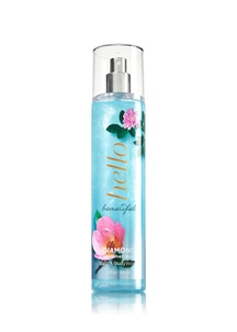 【Bath & Body Works】ハロー ビューティフルの香り_ダイヤモンドシマーミスト