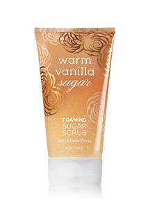 【Bath & Body Works】ウォームバニラシュガーの香り_フォーミングシュガースクラブ