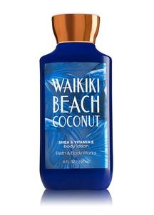 【Bath & Body Works】[ハワイシリーズ]ワイキキビーチココナッツの香り_ボディローション