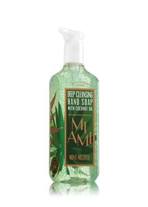 【Bath & Body Works】マイアミ ミント モヒートの香り_ディープクレンジングハンド ソープ