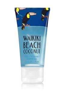 【Bath & Body Works】[ハワイシリーズ]ワイキキビーチココナッツの香り_シャワージェル/ミニ