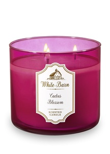 【Bath & Body Works】3-ウィック キャンドル_カクタス ブロッサムの香り