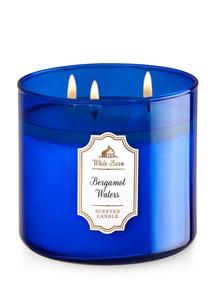 【Bath & Body Works】3-ウィック キャンドル_ベルガモット ウォーターの香り
