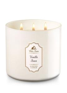 【Bath & Body Works】3-ウィック キャンドル_バニラ ビーンの香り