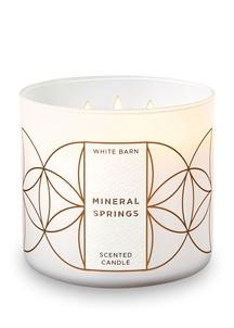 【Bath & Body Works】3-ウィック キャンドル_ミネラル スプリングスの香り