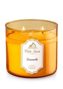 【Bath & Body Works】3-ウィック キャンドル_リモンチェッロの香り