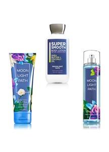 【Bath & Body Works】ボディケア 3点セット_ムーンライトパスの香り
