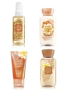 【Bath & Body Works】トラベル 4点セット_ウォームバニラシュガーの香り