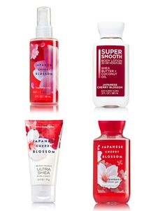 【Bath & Body Works】トラベル 4点セット_ジャパニーズチェリーブロッサムの香り