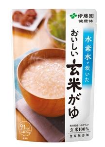 【健康体】水素水で炊いた おいしい玄米がゆ250g 10パック