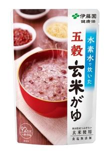 【健康体】水素水で炊いた 五穀玄米がゆ 250g 10パック