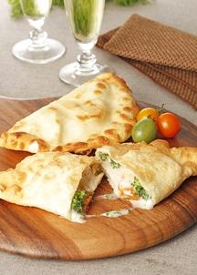 フライドピザ 3種類チキン食べ比べセット
