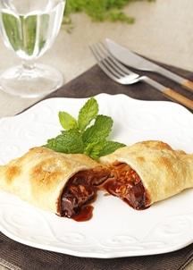 フライドピザ ヘーゼルナッツと3種のチョコレートソース 4個セット