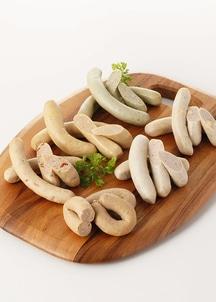 口笛ソーセージAセット(6種:プレーン、チョリソー、チーズ、バジル、にんじん、トマト&ハーブ)