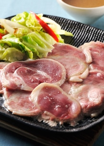 【新感覚・オイルフォンデュ風!】本鴨焼き肉セット