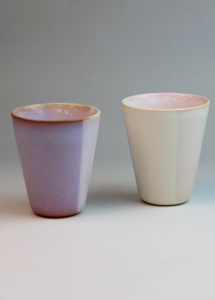 萩焼窯元 萩陶苑 【萩焼】Shikisaiペアカップ