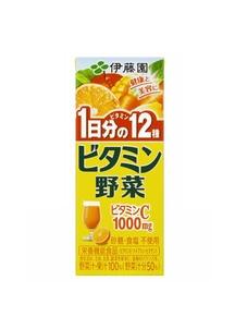 ビタミン野菜200mlパック48本(1本あたり76円)