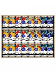 有機果樹園 果実100%ジュースセット 190g×24