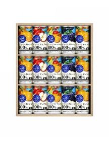 有機果樹園 果実100%ジュース15本セット 190g×15