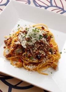 【BREJEW】島根のエリンギ入りボロネーゼソース生パスタ スパゲティ2食セット