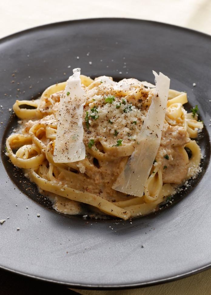 BREJEW 【BREJEW】ポルチーニ茸のクリームソース生パスタ スパゲティ2食セット