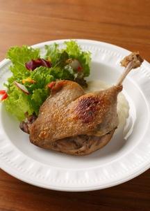 【BREJEW】合鴨骨付きもも肉のコンフィ 2本セット