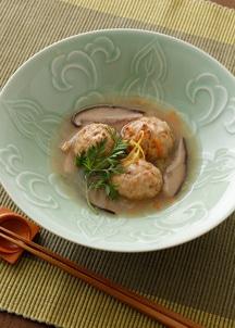 【BREJEW】島根のゆず風味鶏だんご 野菜あん 3個セット
