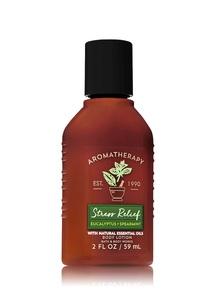 【Bath & Body Works】ユーカリスペアミントの香り トラベルサイズ ボディローション/アロマセラピーシリーズ ストレスリリーフ