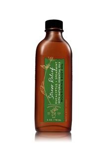 【Bath & Body Works】ユーカリスペアミントの香り ボディオイル/アロマセラピーシリーズ ストレスリリーフ