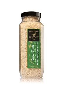 【Bath & Body Works】ユーカリスペアミントの香り バスソルト/アロマセラピーシリーズ ストレスリリーフ