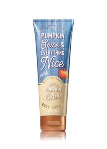 【Bath & Body Works / 秋限定】スパイスド パンプキン サイダーの香り ボディクリーム